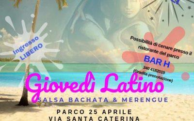 Ogni Giovedì Serata Latina con Happy Dance!
