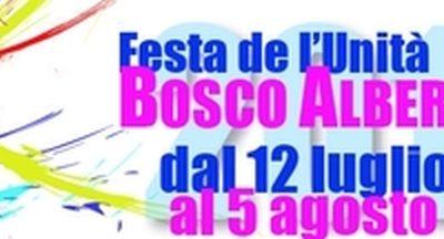 Festa dell'unità a Bosco Albergati